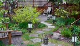 Bahçe Alanlarında Tasarruf Aydınlatma